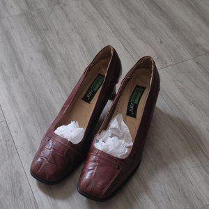 Vero Cuoio (Real Leather) Vintage Heels